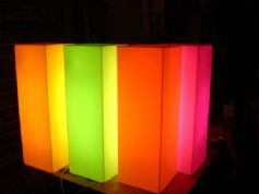 Opal Illuminated Display plinths